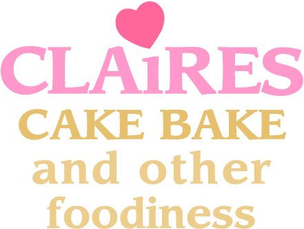 Claire\'s Cake Bake and Other Foodiness